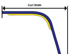 Curl Width